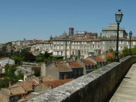 Angoulême, rempart Desaix