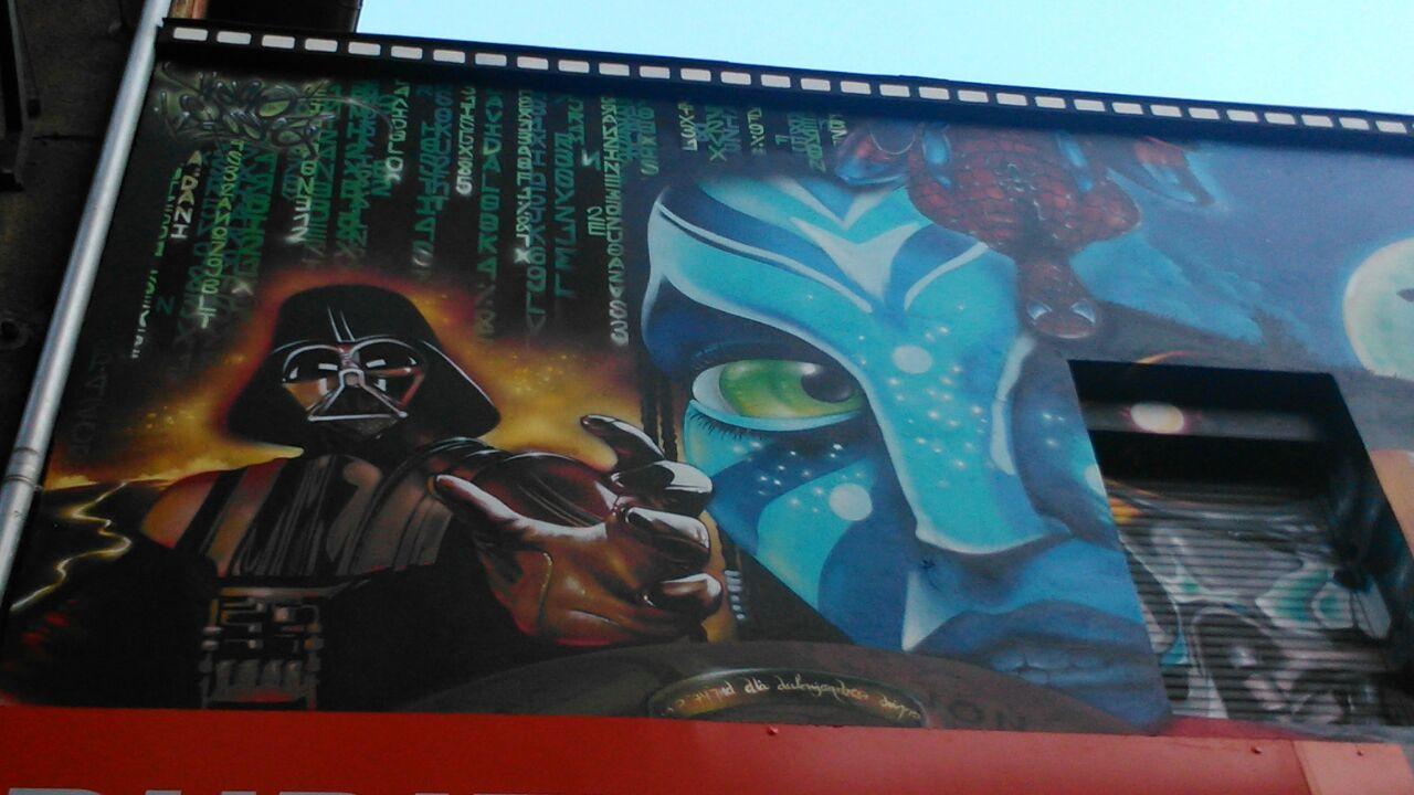 Arte en los muros de durango piensa en un lugar for El mural pelicula online