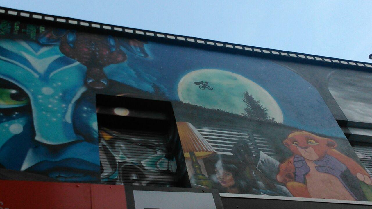 Arte en los muros de durango piensa en un lugar for El mural pelicula