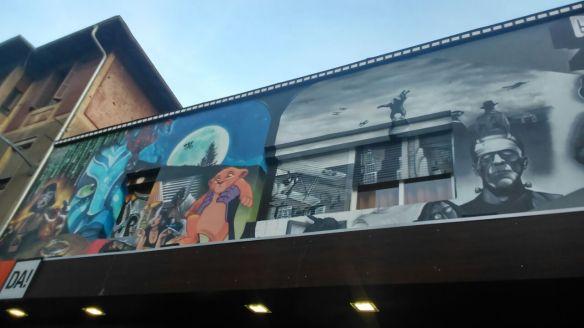 mural cine de Durango zugaza star wars