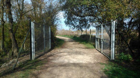 camino valla parque andar ejercicio vitoria