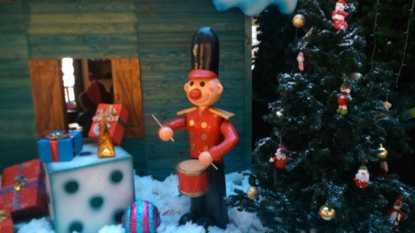 navidad arbol decoracion navideña soldadito dado