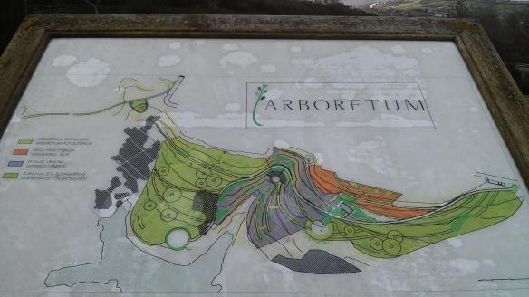 Mapa Arboretum Leioa UPV/EHU UPV EHU