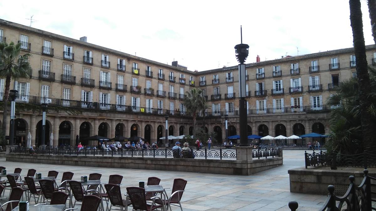 ahora charla pequeño en Bilbao